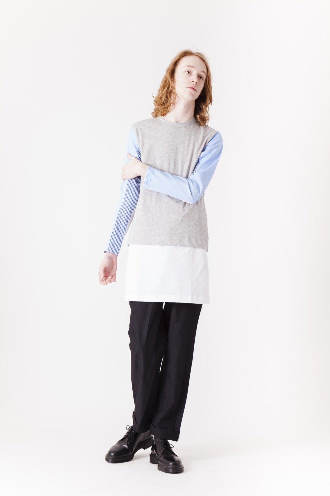 CDG_SHIRT_Micro_Gingham_Poplin_Long_Sleeve_Shirtx-2
