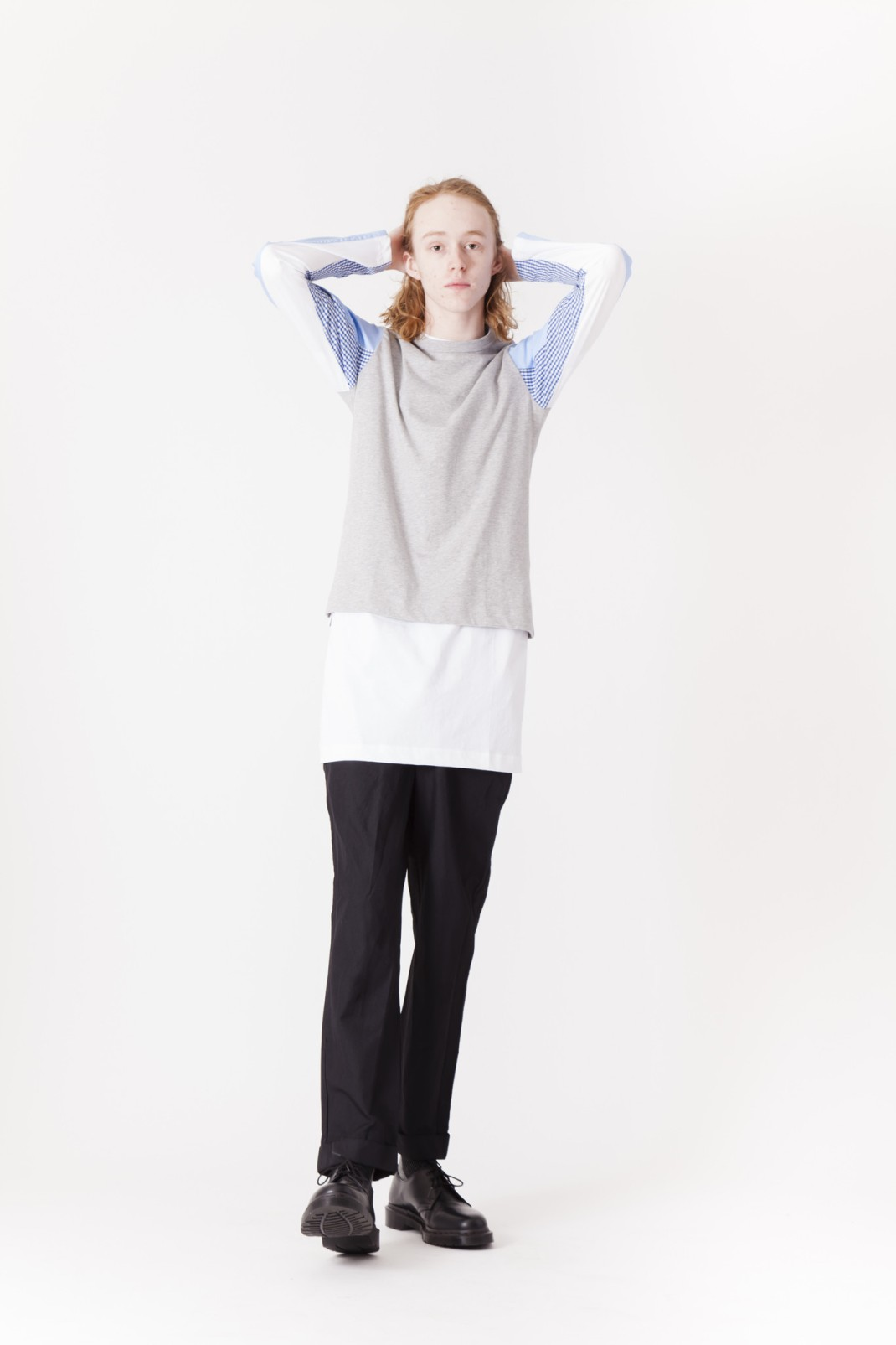CDG_SHIRT_Micro_Gingham_Poplin_Long_Sleeve_Shirtx